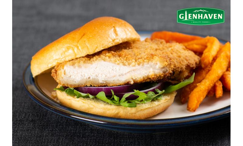 Glenhaven Breaded Fillet 155g x 32