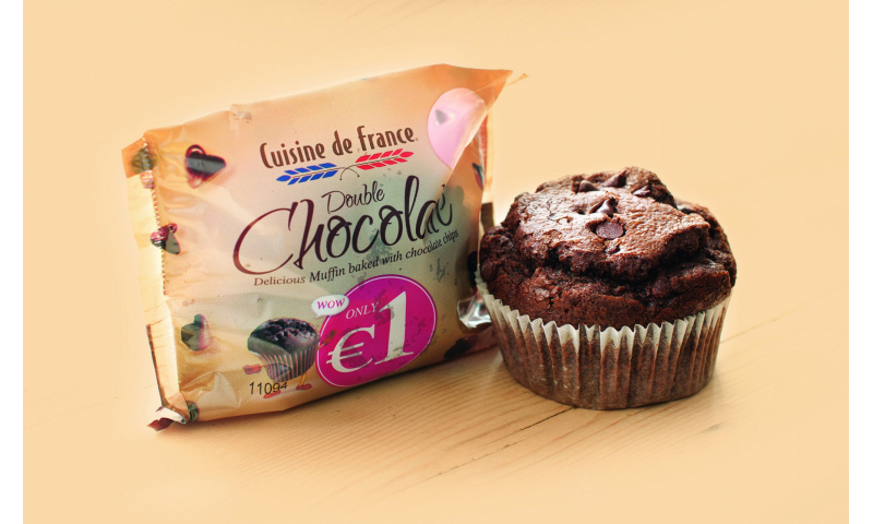 Wrapped Chocolate  Muffins CDF X48