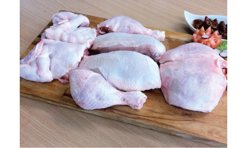 Chicken 9 cut 1300g x 8 per case