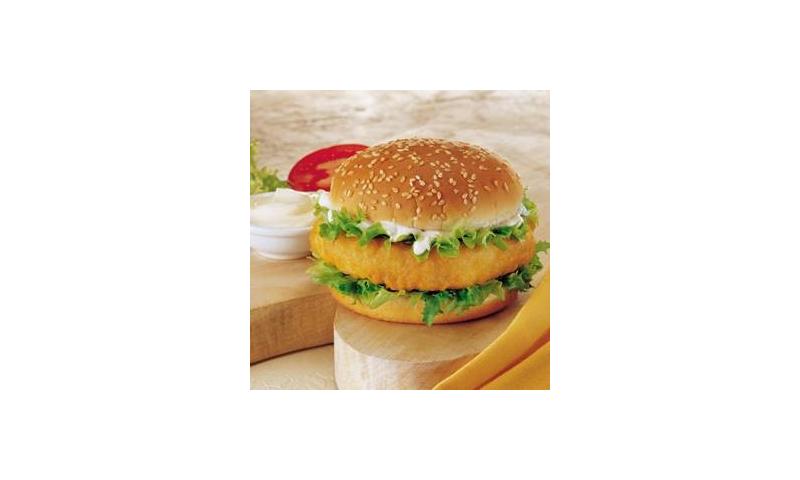 Glen Haven Chicken Burgers Breaded x 60