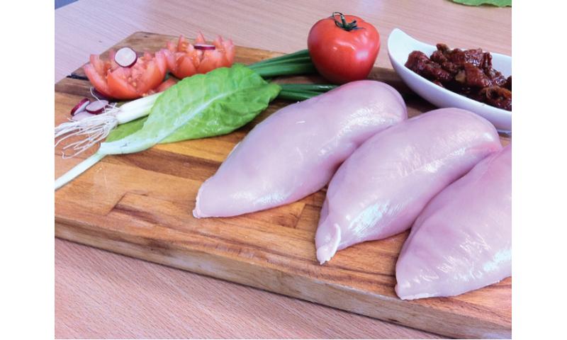 Fresh Chicken breast 170/200 2 x 25