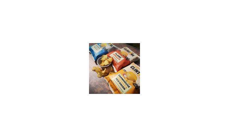 Clintons Sea Salt & Vinegar Irish Made Crisps 50g x 24s