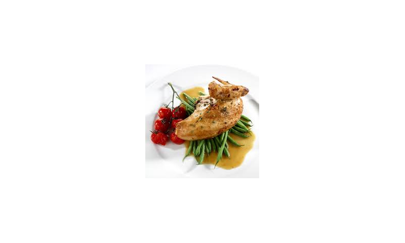 Chicken Breast quarters cooked 10-12oz 4 x8