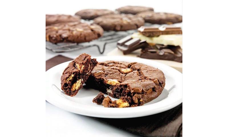 Belgian Triple Choc Cookies Wrapped  30x76g