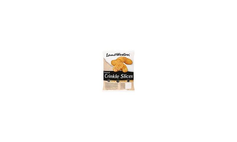Crispy Crinkle Slices 4x2.5kg