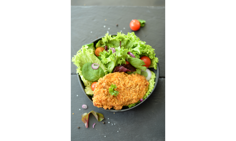 Breaded Cooked Chicken Fillets 140g x 35