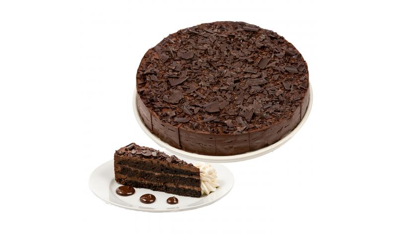 Sweetness Double Chocolate Fudge Cake