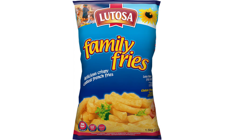 Lutosa/misterfood Oven Chips 6x1.5kg