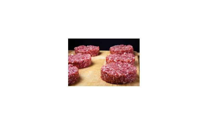 Irish Fresh 6oz Beef Burgers grain fed x 12