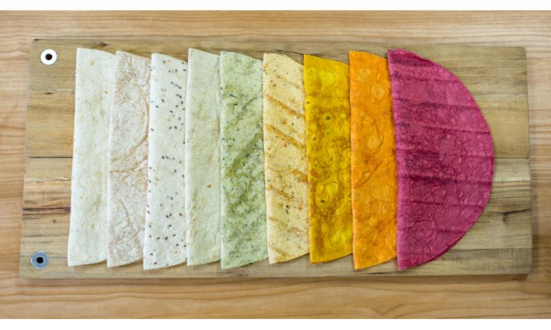 "Flatbread Irish Wraps Wholemeal 12""  6 x 18"