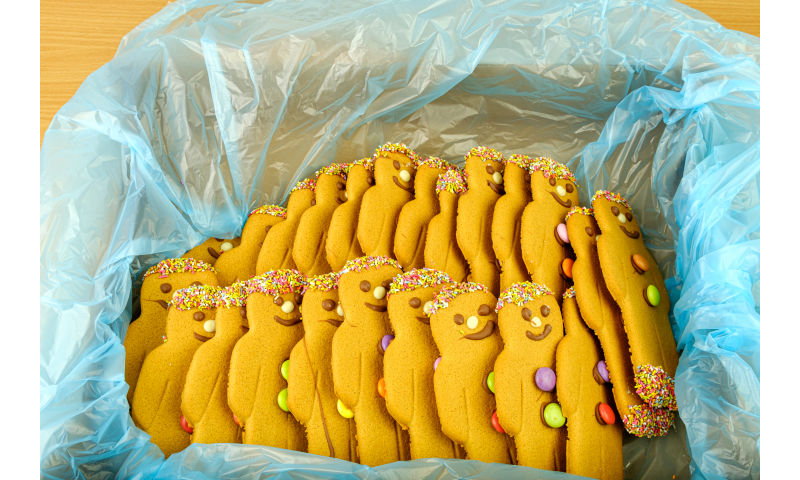 Staffords Gingerbread Men blanks