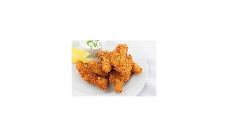 RJ Chicken Goujons plain  1kg x 4