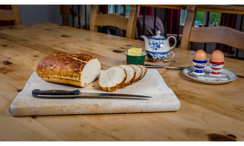 Tiger Bread Vienna loaf 400g x8
