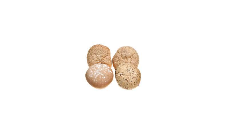 Bread Mixed Baps X60