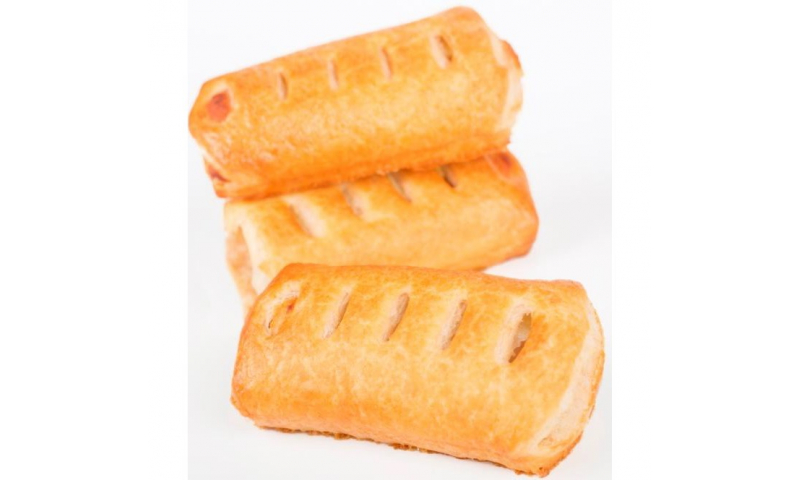 Cooked Sausage Rolls 3.5in x 96