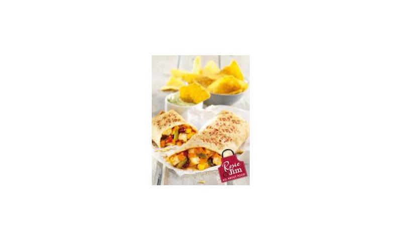 RJ Chicken Tortilla Wraps Tikka 145-155g x 20