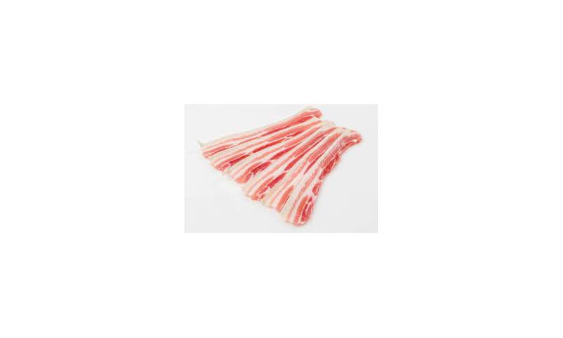 Streaky Bacon Uncooked 4 x 5lb
