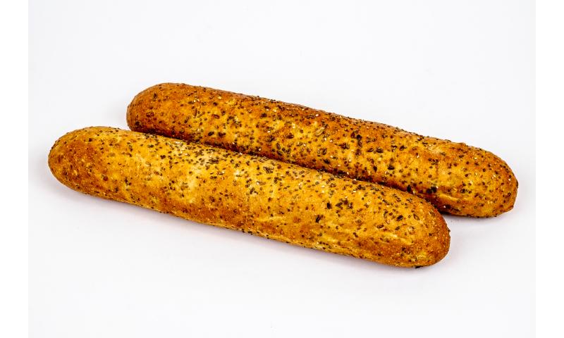 Triple Grain Demi Baguette 60x140g