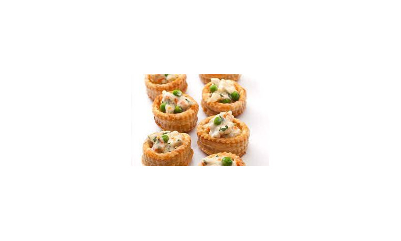 King size vol au vents cooked x 72